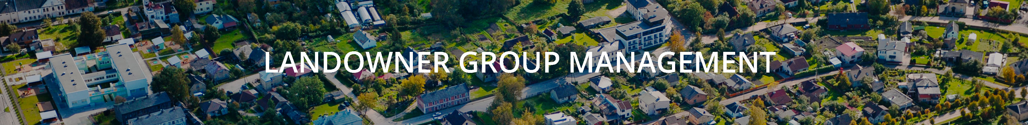 landowner group management